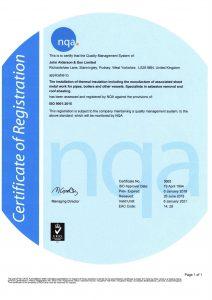 NQA Certificate 2018 - 2021